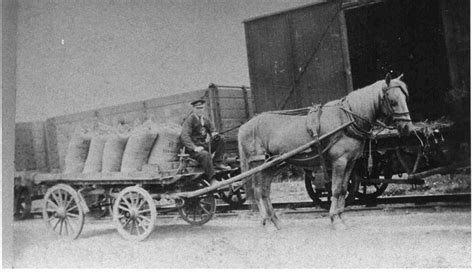 One Story House Plans With Pictures Horse And Dray In Killamarsh Central Goods Yard Photo