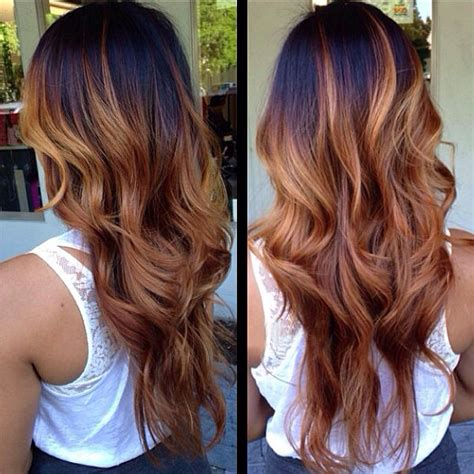 pics of blonde roots with brown on bottom the latest brown ombre hair colors at blog vpfashion com