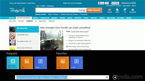 lynda windows 10 new features tutorial keiso windows 8 tutorial exploring the internet explorer 10
