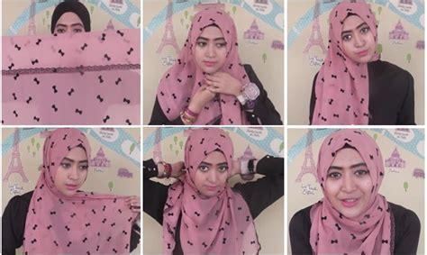 tutorial hijab anak muda 2016 gambar tutorial hijab natasha farani gaya anak muda kreasi