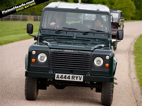 land rover queens driving the queen s v8 land rover pistonheads