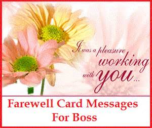 sle messages and wishes farewell