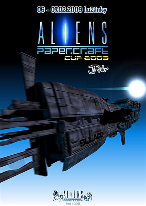 Aliens Papercraft - aliens papercraft pap 237 rov 233 modely