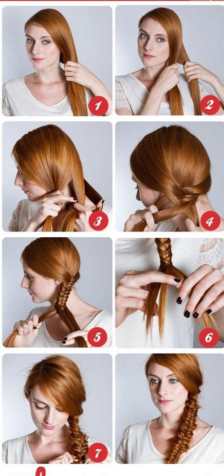 Hairstyles Step By Step Guides How To Create Hairstyles | fryzury z długich włos 243 w krok po kroku