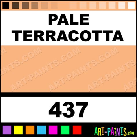 pale terracotta galeria acrylic paints 437 pale terracotta paint pale terracotta color