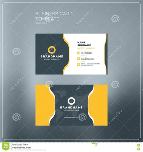 business card template for self printing corporate business card print template personal visiting