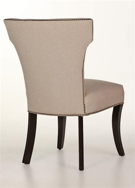 Leather Dining Room Chairs With Nailhead Trim Berkeley Dining Chair With Nailhead Trim Contemporary Design