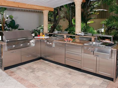 outdoor kitchen kits outdoor kitchen cabinets kits american hwy