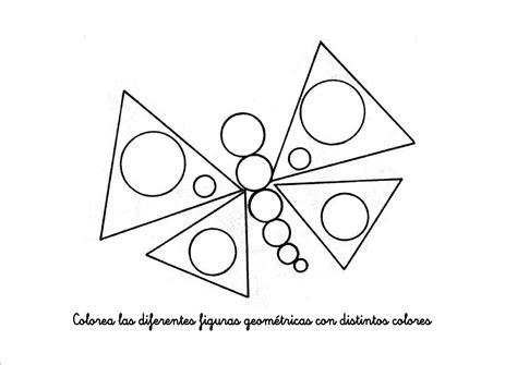 imagenes para colorear geometricas figuras geom 233 tricas el tri 225 ngulo