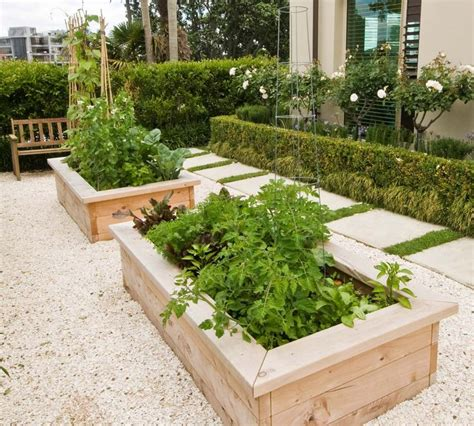 Two Raised Vegetable Garden Beds Garden Pinterest Vegetable Garden Beds Raised
