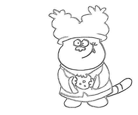 chowder coloring pages coloring home