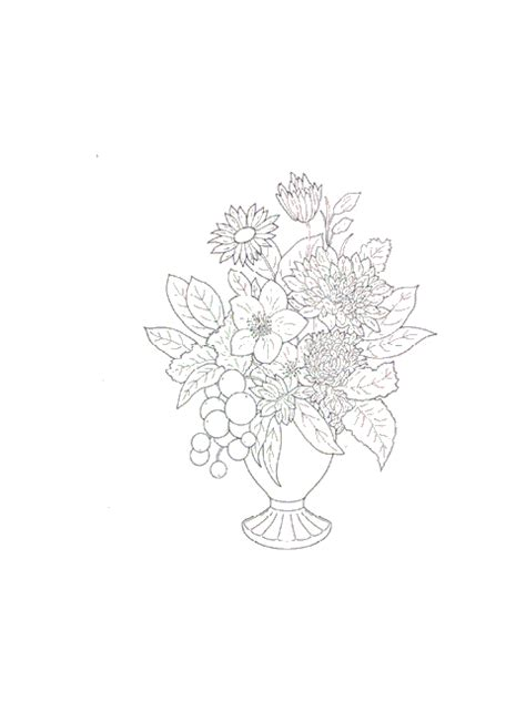 coloring pages flowers bouquet flower bouquet coloring pages coloringpages1001
