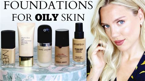 BEST FOUNDATIONS FOR OILY/COMBINATION SKIN    Elanna