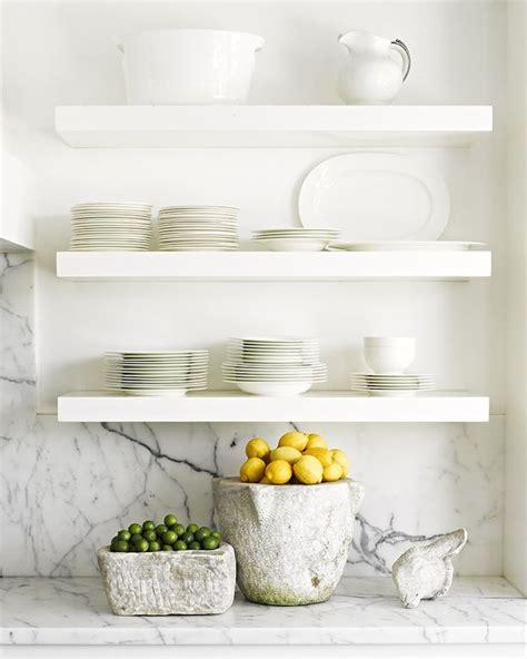 floating kitchen shelves fashionable hostess