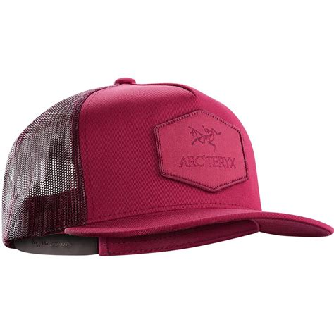 Arteryx Patch Trucker Hat Topi arc teryx hexagonal patch trucker hat s