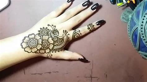 simple henna design youtube easy henna design henna shantalla youtube