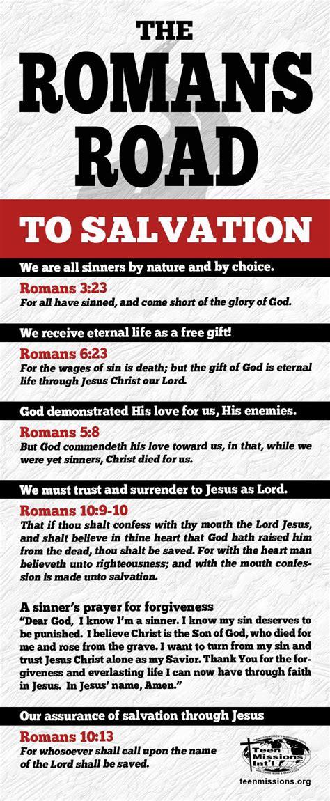printable quiz on salvation romans road to salvation roman road to salvation
