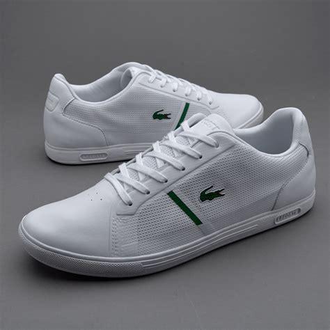 Sepatu Merk Lacoste sepatu sneakers lacoste strideur white