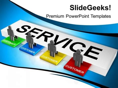powerpoint templates free customer service choice image