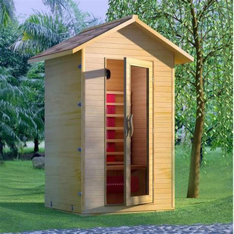 Detox Box Infrared Sauna by Outdoor Infrared Sauna Room Detox Box Cabin H201 Id