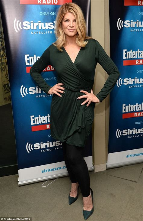 Gold Coat From Kirsty by Kirstie Alley Showcases 50lb Weight Loss In Pencil