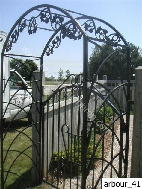 Wrought Iron Ls Wrought Iron Arbours Arbour 41 Jpg