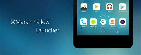 marshmallow launcher themes xmarshmallow concept launcher themes for xperia