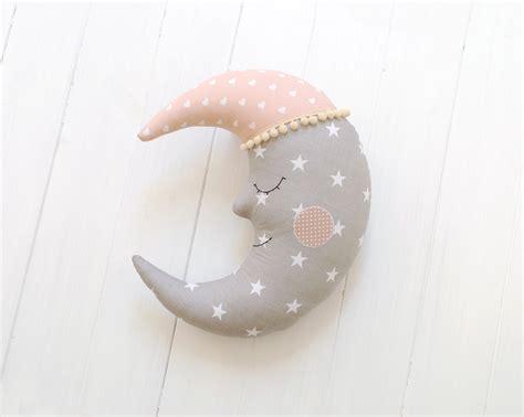 Handmade Nursery Decor Ideas - moon pillow moon cushion crescent moon pillow nursery decor