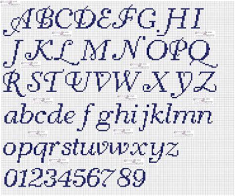 lettere corsive punto croce amorevitacrocette punto croce alfabeti in corsivo