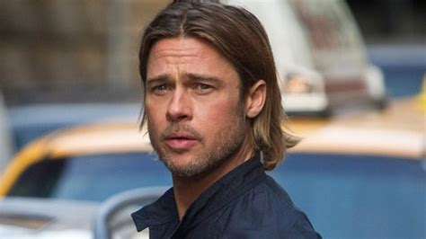 brad pitt world war z hair length top dilf de la f 234 te des p 232 res les papas les plus hot du