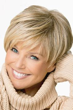 hairstyles for everyday women over 50 with round faces no celebreties short wedge haircut from 1980 cute short cropped wedge