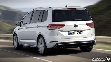 Volkswagen Touran R Line 2016 Sportowy Rodzinny Minivan