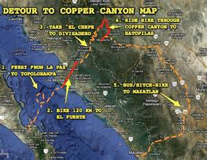 Copper Canyon Mexico Map by Stage 3 Of The Tour De Zack Y Tony 187 Zack Skerritt