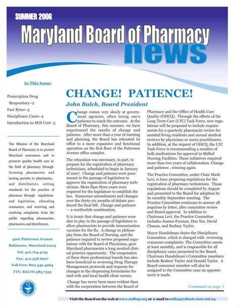 pharmacy newsletter templates docs psd