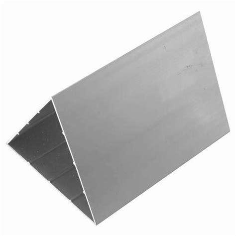 China Extruded Aluminum Triangle Section China Aluminum