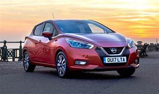 nissan new car price new nissan micra 2017 new updated range hits uk