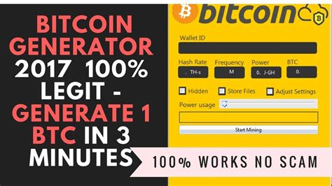 bitcoin legit download bitcoin generator 2018 generate 1 btc in 3