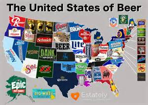 United States Beer Map by The United States Of Beer A Rebuttal To Budweiser S