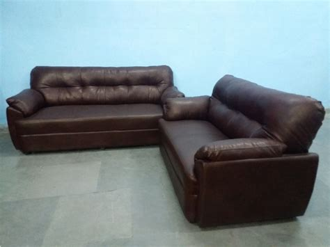 5 Seater Leather Sofa Set Used Furniture For Sale