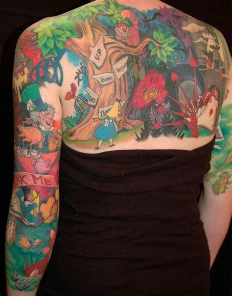 alice tattoo were all a little mad on pinterest alice in wonderland
