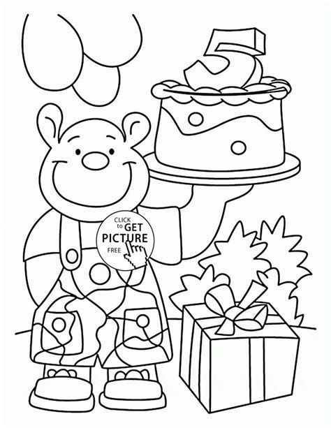 birthday coloring card template 150 best images about birthday coloring pages on