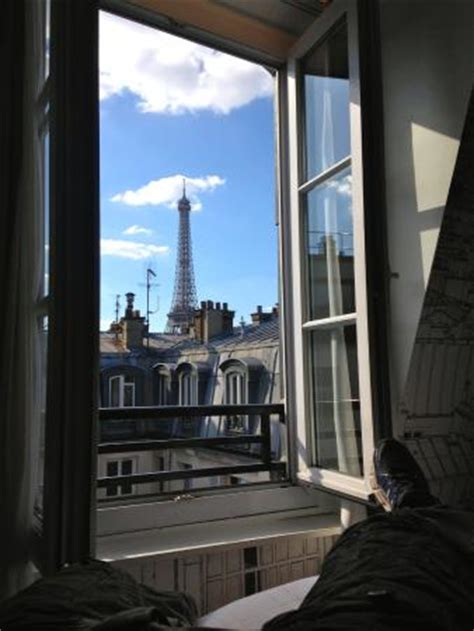 best view of eiffel tower from hotel room view from eiffel tower view room picture of cler hotel tripadvisor
