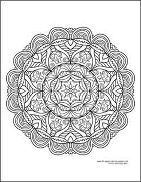 hard kaleidoscope coloring pages pin by katie andersen on coloring pages pinterest
