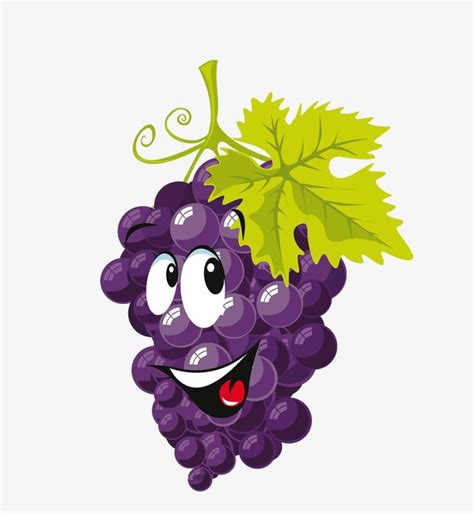 imagenes infantiles uvas dibujos de uvas uva frutas cartoon png image para