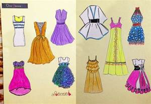 how to design a dress fashion sketch for beginners lotacesta