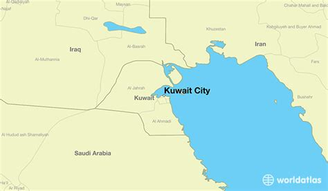 where is kuwait on a world map where is kuwait city kuwait where is kuwait city