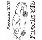 Awesome Porsche Coloring Pages Ornament  Example Resume