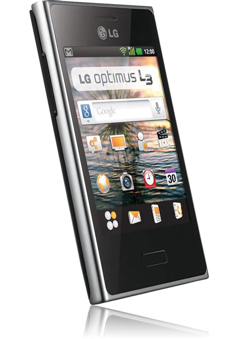 optimus mobile lg optimus l3 noir mails appareil photo