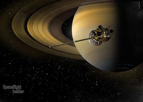 spacecraft orbiting saturn our spaceflight heritage 12 years ago huygens touched