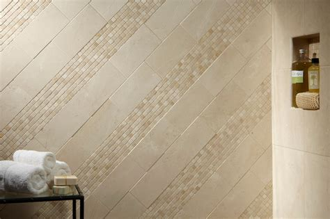 Bath Fun Shower crema marfil marble modern bathroom other metro by